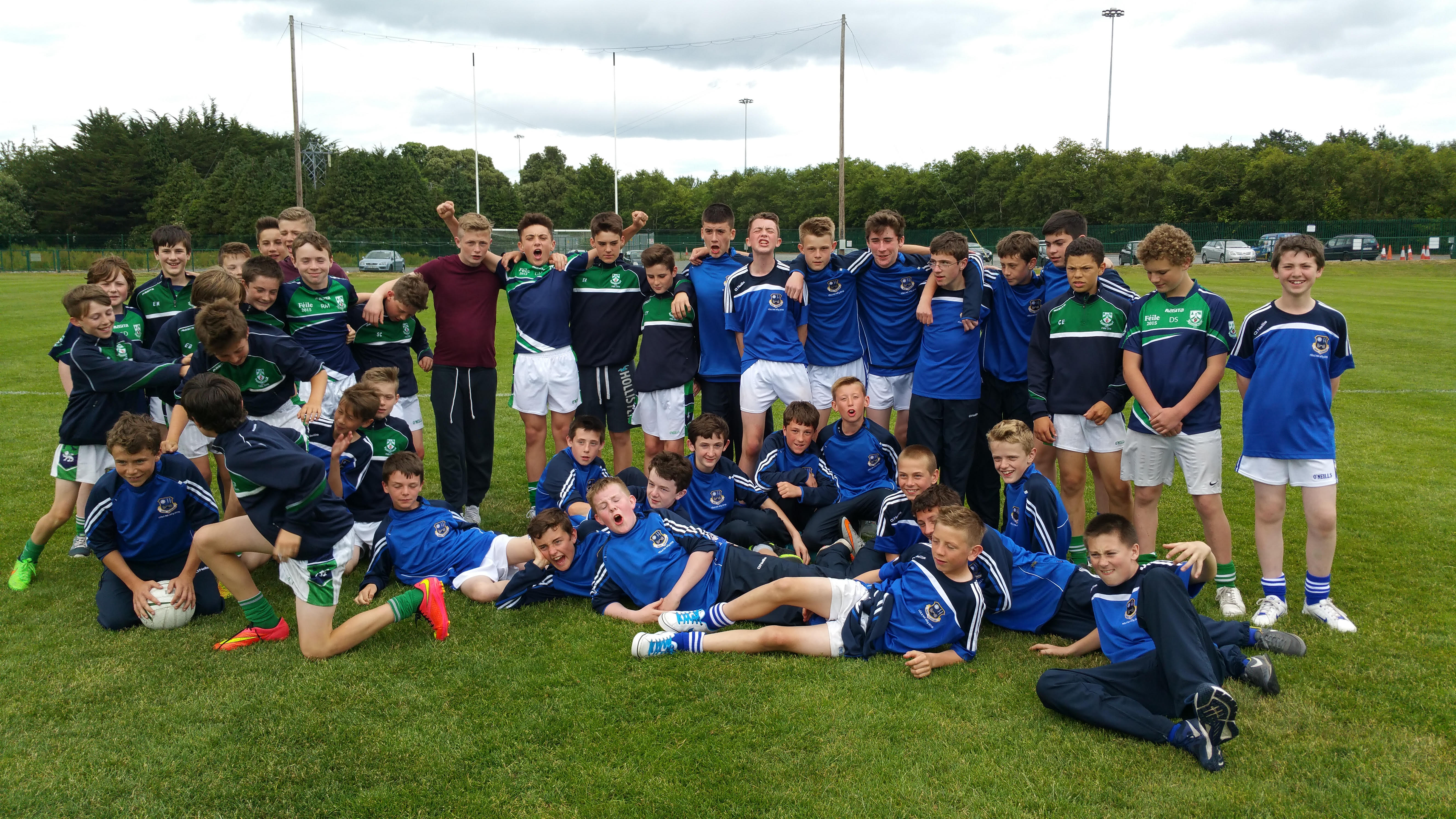 Feile Boys 2015With Old Castle