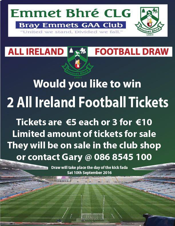 Tickets To Be Won