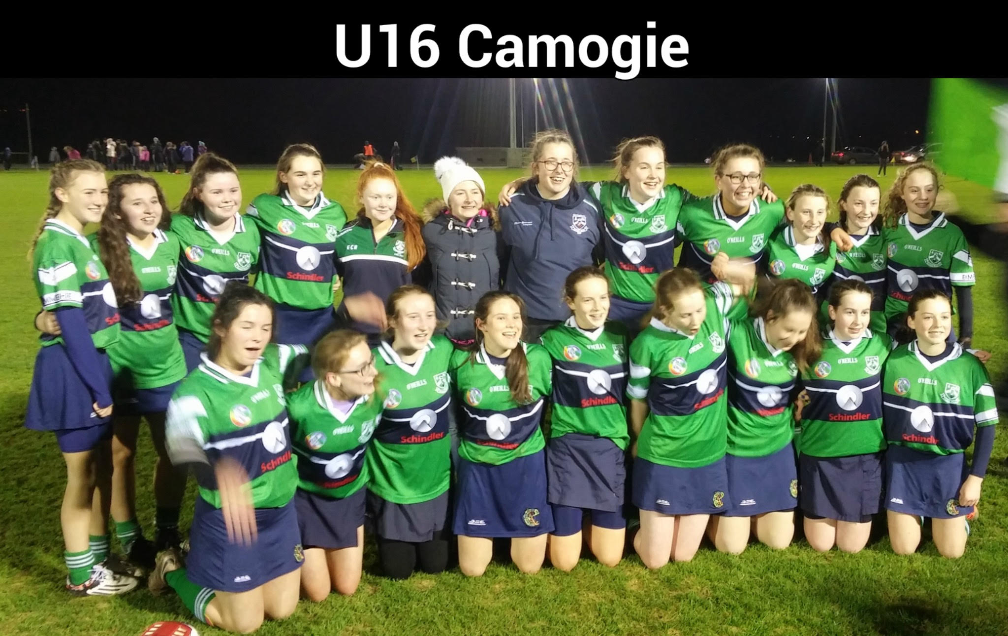 U 16 Camogie With Header
